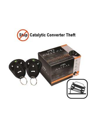 Avital 3100L Συναγερμός Αυτοκινήτου 1-way + 507M Αισθητήρας Κλίσης Αυτοκινήτου (Πακέτο)