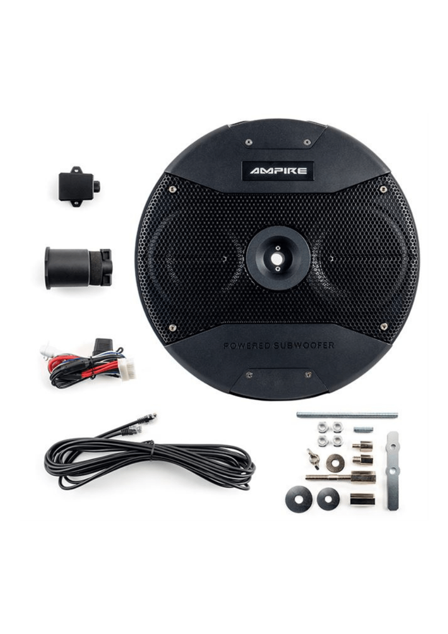 Ampire ACTIVE6-RD Ενεργό Subwoofer 6.5″ (Τεμάχιο)