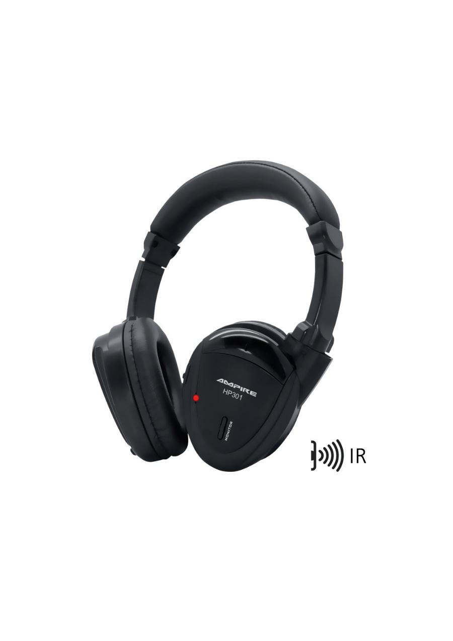 Ampire HP301 Ασύρματα Ακουστικά IR Διπλής πηγής (Τεμάχιο)