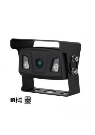 Ampire KIP200 Μαύρη Κάμερα Οπισθοπορείας για Φορτηγά και Λεωφορεία (Τεμάχιο)