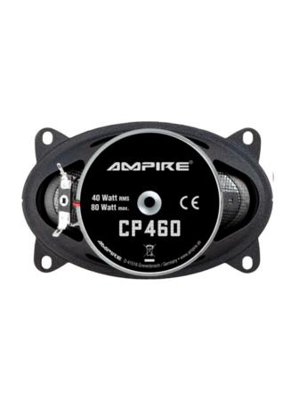 "Ampire CP460 Ομοαξονικά Ηχεία Αυτοκινήτου 4""x6"" 40W RMS"