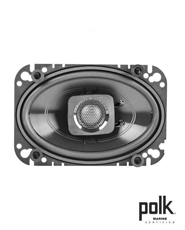 Polk Audio DB462 Ηχεία Αυτοκινήτου – Σκάφους (Marine) 4″x6″ 80W (Ζεύγος)