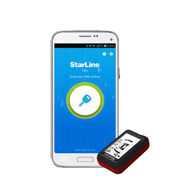 StarLine E66-LCD Σύστημα ασφαλείας με LCD χειριστήριο