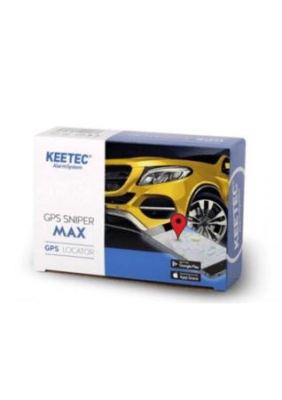 Keetec GPS Sniper Max Σύστημα Εντοπισμού GPS Tracker