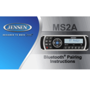 Jensen MS2A Πηγή Ήχου Marine (Τεμάχιο)