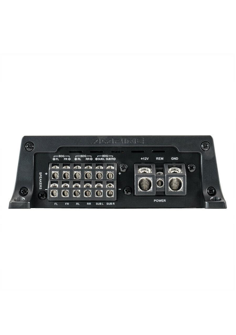 Ampire MBM720.6 Ενισχυτής 6 Καναλιών Ηχείων Αυτοκινήτου 720W RMS