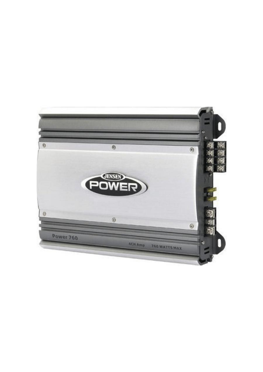 Jensen POWER760 Ενισχυτής Σκάφους Marine 4x60W / 2x155W (4Ω) (Τεμάχιο)