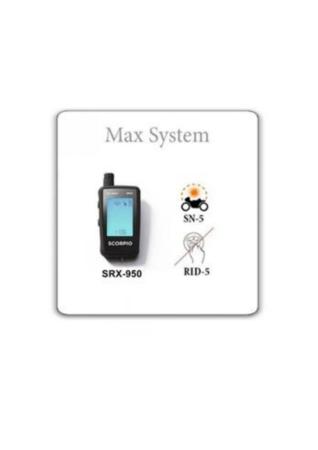 Scorpio SRX-950 Συναγερμός Μηχανής 2-way Max