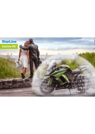 StarLine V67 Συναγερμός Μηχανής με Bluetooth Tags και GPS