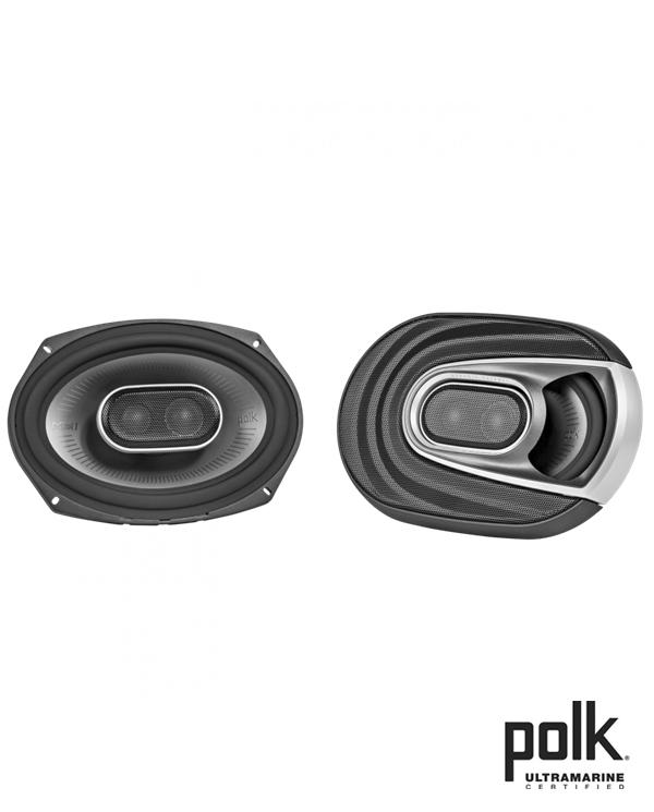 Polk Audio MM692 Ηχεία Αυτοκινήτου – Σκάφους 6″x9″ 150W RMS (Ζευγάρι)