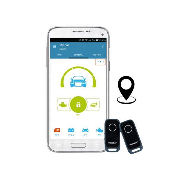 StarLine S66-2-GPS Συναγερμός Αυτοκινήτου με GPS