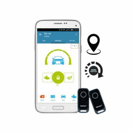 StarLine S96-2-GPS Σύστημα Ασφαλείας με GPS και Εκκίνηση Κινητήρα
