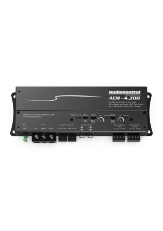 AudioControl ACM-4.300 4-Κάναλος Μικρο-Ενισχυτής