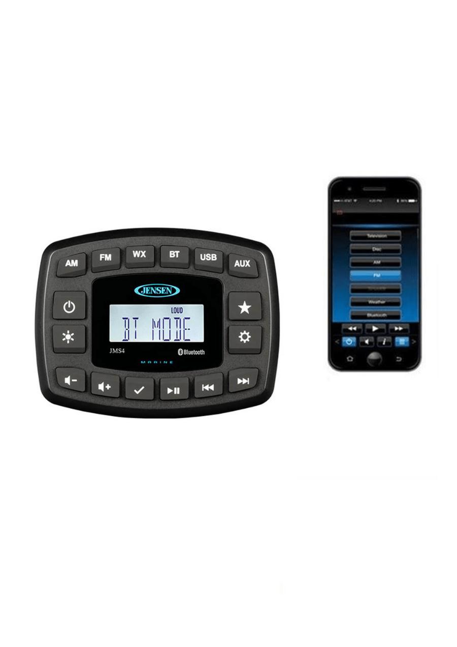 Jensen JMS4 AM/FM/160 Watts/USB/iPod®/iPhone® Ready/Bluetooth