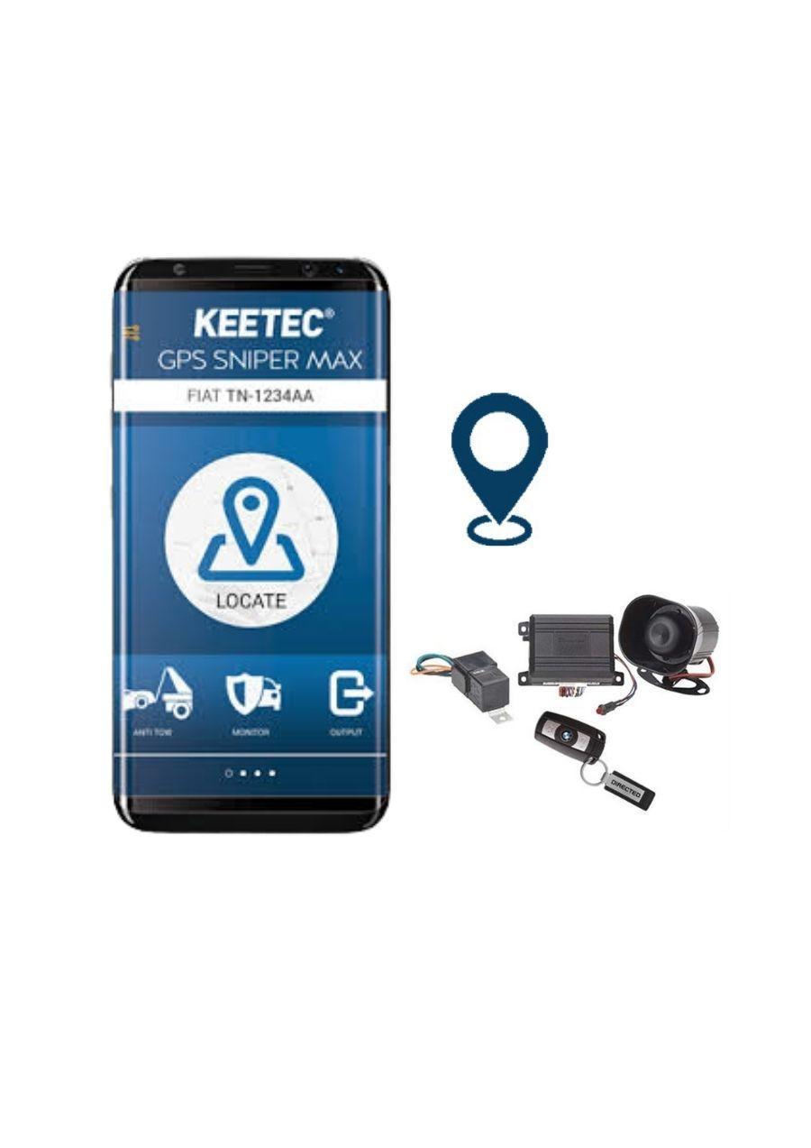 Directed 3903T-GPS Συναγερμός Αυτοκινήτου Can Bus με Keetec Snipermax GPS