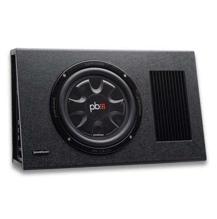Powerbass PS-AWB101T καμπίνα Subwoofer 10'' 175W RMS (Τεμάχιο)