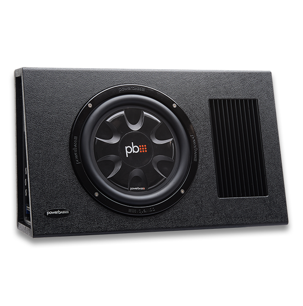 """Powerbass PS-AWB101T καμπίνα Subwoofer 10"""" 175W RMS (Τεμάχιο)"""