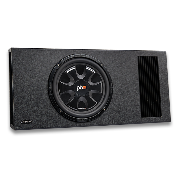 """Powerbass PS-AWB121T καμπίνα Subwoofer 12"""" 200W RMS (Τεμάχιο)"""