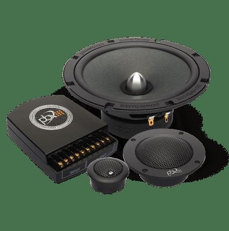 Powerbass 2XL-63.3C Ηχεία Component 3-Way 6.5'' 120W RMS (Ζευγάρι)