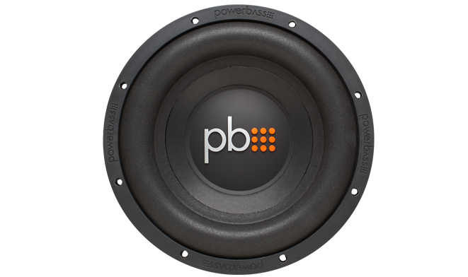 """Powerbass  S-1004 Subwoofer 10"""" 275W RMS (Τεμάχιο)"""