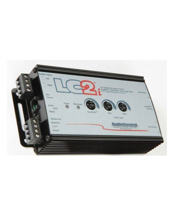 Audiocontrol LC2I Μετατροπέας Line Out Με Accubass® 2 Καναλιών 400RMS (Τεμάχιο)