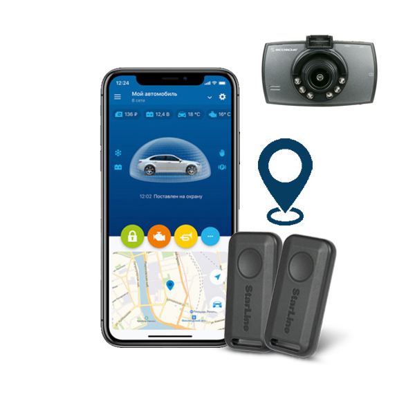 StarLine S9-2-GPS-CAM Σύστημα ασφαλείας με GPS και καταγραφή μέσω κάμερας Scosche