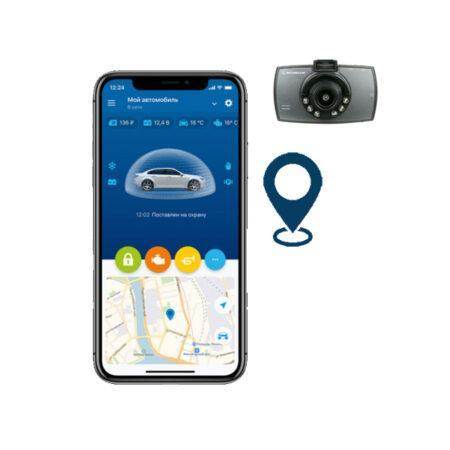 StarLine S9-GPS-CAM Σύστημα ασφαλείας με GPS και καταγραφή μέσω κάμερας Scosche