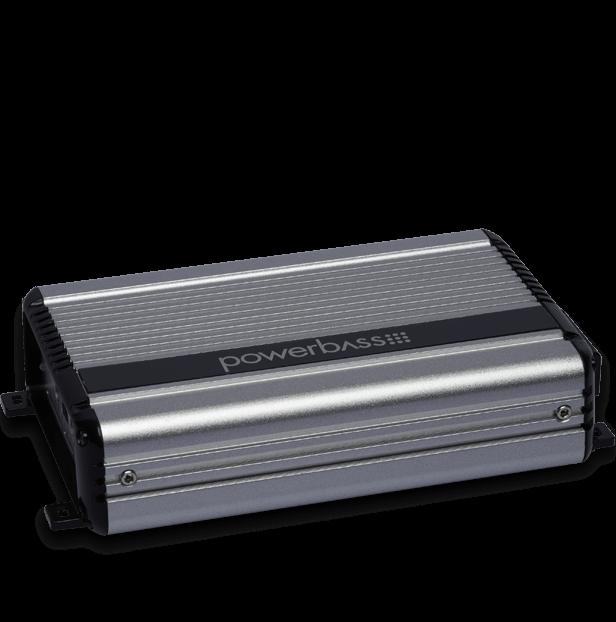 Powerbass XL-2205M Μini Ενισχυτής Δύο Καναλιών 2X200W RMS (Τεμάχιο)
