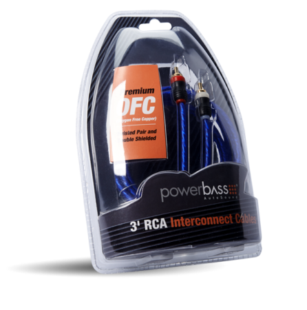 Powerbass ARCA-3 Καλώδιο RCA - RCA 90CM (Τεμάχιο)