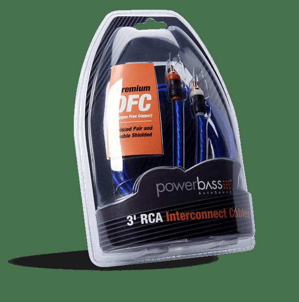 Powerbass ARCA-3 Καλώδιο RCA – RCA 90CM (Τεμάχιο)