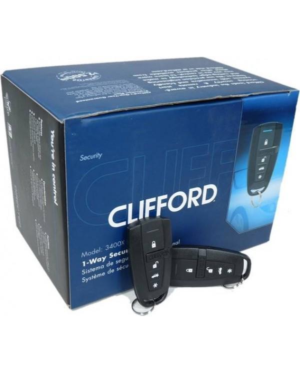 Clifford 3400x Συναγερμός Αυτοκινήτου 1-way