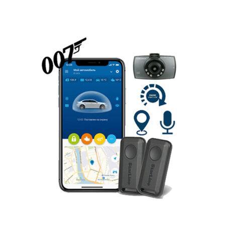 Starline AS9-4G-PRO-007 Σύστημα ασφαλείας με GPS, εκκίνηση κινητήρα, μικρόφωνο και καταγραφή μέσω κάμερας Scosche