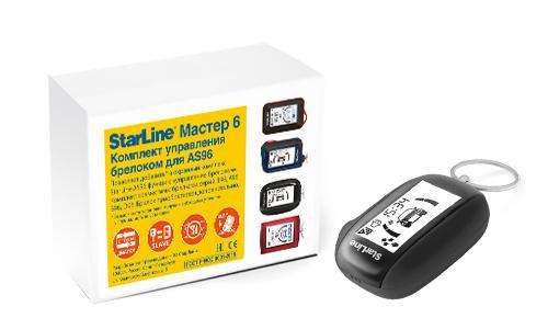 StarLine Πακέτο αναβάθμισης AS9 με LCD remote